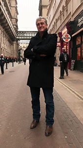 The Author - Stephen Leather in London